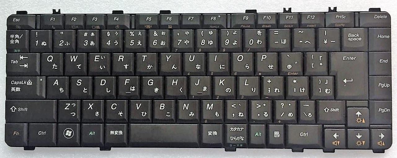 キーボード:純正新品Lenovo Y560P等用(25-008706,V-101020BJ1)国内発送