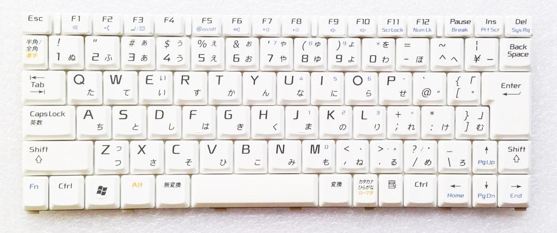 キーボード:新品NEC LaVie J LJ700/JH 等用(HMB3402CND11,白)国内発送