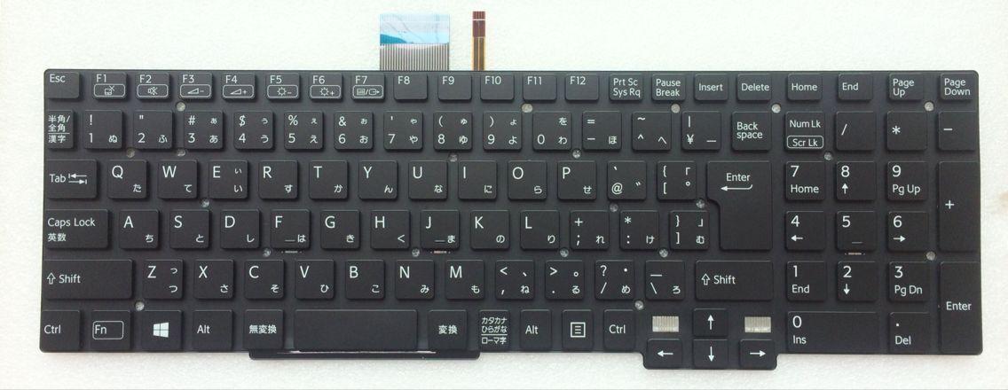 キーボード:新品SONY VAIO SVT15等用(9Z.N9EBW.00J,黒,147442011,バックライト付き)国内発送
