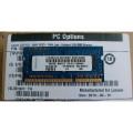 純正新品IBM/Lenovo1GB PC3-8500 DDR3-1066 SODIMMメモリ(55Y3712)