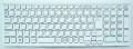 キーボード:新品SONY ノートPC等用(148969511, 白,V116630B)国内発送