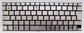 キーボード:新品ASUS Zenbook UX21,UX21A,UX21E等用キーボード (MP-11A90J06698,シルバー)国内発送