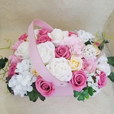 【シャボンフラワー】エスポワール ピンク  SH0006