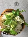 花束 ブーケ ≪ZEST≫ ホワイトグリーン