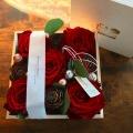 petit rose プティローズ 〜冬の章〜 一般財団法人 クリステル・ヴィ・アンサンブル コラボ商品 フラワーアレンジメント