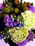 花束 ブーケ ≪ZEST≫ ブルーパープル