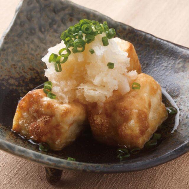 生姜みぞれつゆアレンジイメージ 揚げ出し豆腐