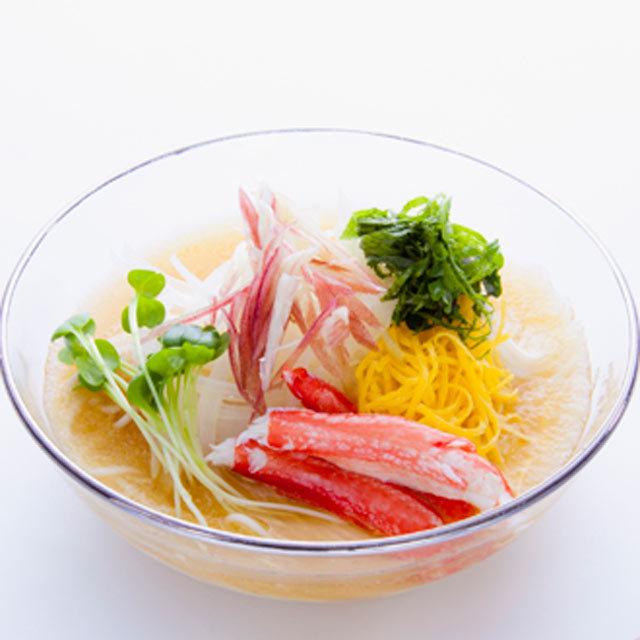 野菜おろしつゆアレンジイメージ サラダうどん