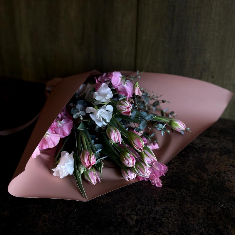 花束 tulip pink