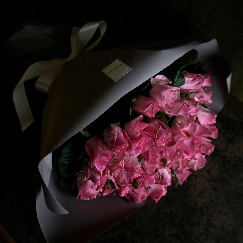 40本のバラの花束-真実の愛・本物の愛-pink