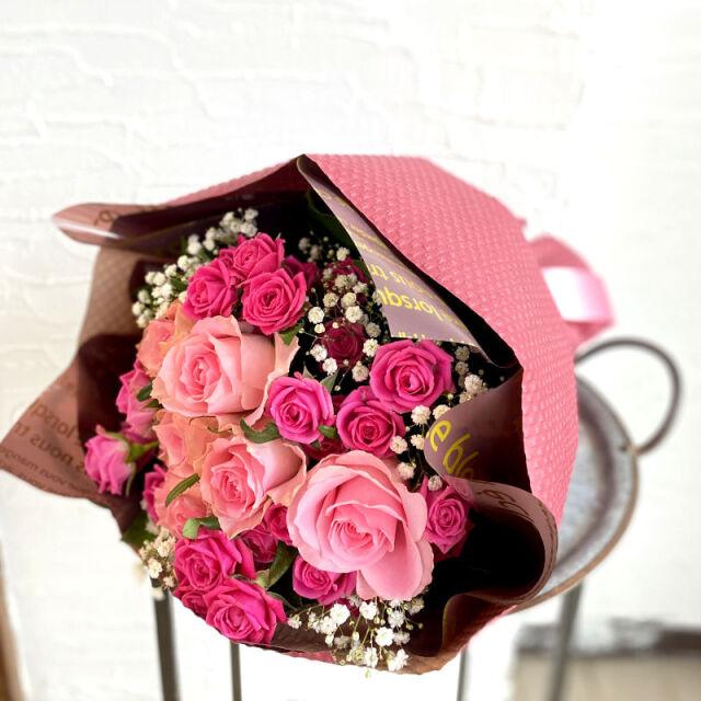 花束 ローズピンク