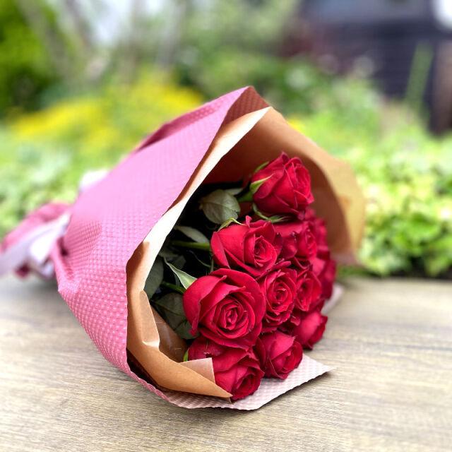 ローズブーケ12本 ダズンローズ(dozen rose)red