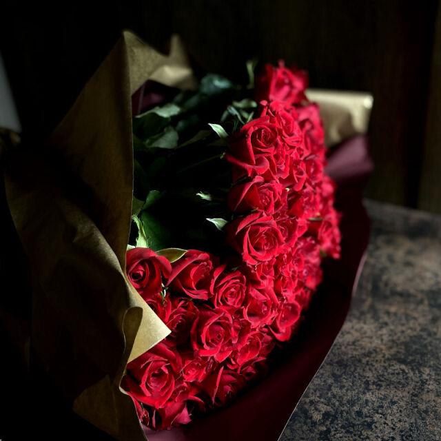 101本のバラの花束-これ以上ないほど愛しています-