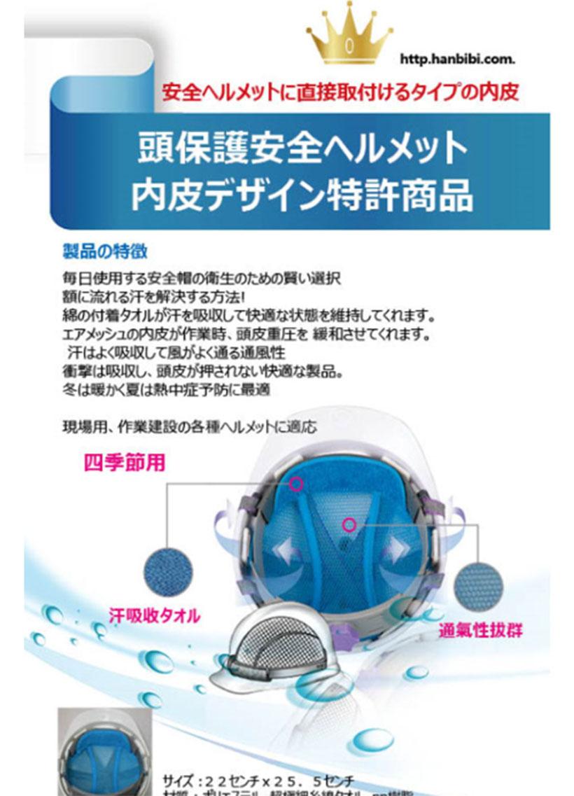 暑いと事で仕事するお父さん、彼氏の為、安全ヘルメット、ヘルメットインナー クール帽子、吸水、ひんやり、熱中症グッズ 安全ヘルメットに直接取付けるタイプ内皮