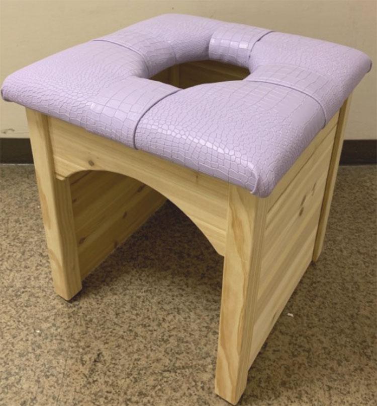 よもぎ椅子丸の穴形のよもぎ蒸し椅子だけ単品