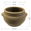 10個限定黄土小鉢だけ販売、ヨモギ蒸し専用、黄土壺