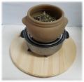 ハンビビ、黄土よもぎ蒸しの時の板台、汗防止、、、床保護、