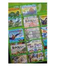 保育園、本を飾る、保育園、学校、図書館、幼稚園のウォールポケット