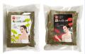 よもぎ蒸し材料粉末 30グラム4個入り120グラム, 赤い花が子宮健康用です