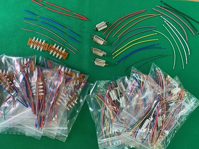 お得なコネクタ・ケーブルはんだ付け教材2組x10セット