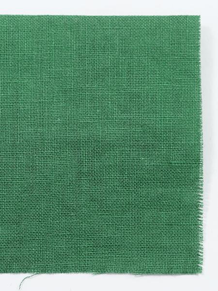 お試し生地 雅亜麻リネン 常盤緑(ときわみどり) 【ゆうパケット可】 0555-14