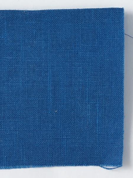 お試し生地 雅亜麻リネン 薄藍 (うすあい) 【ネコポス可】 f00555w016-s