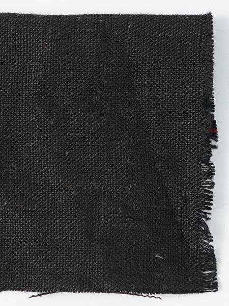 お試し生地 暖リネン ブラック 【ゆうパケット可】 8010-K