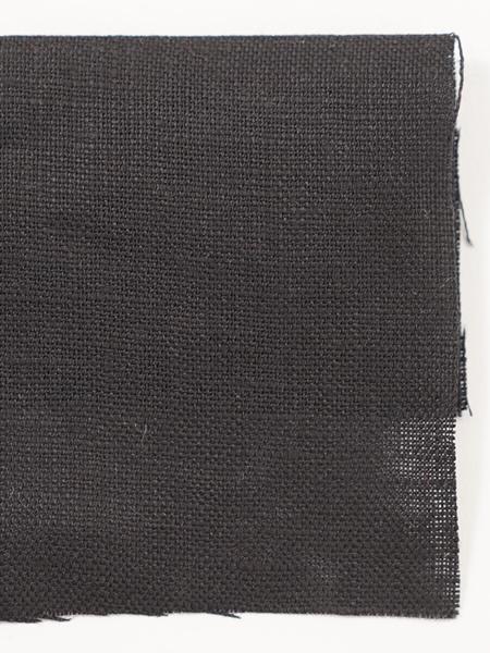 お試し生地 ベルギーリネン ブラック 【ネコポス可】 k03919w0bk-s
