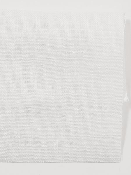 お試し生地 ベルギーリネン ホワイト 【ネコポス可】 k03919w00p-s