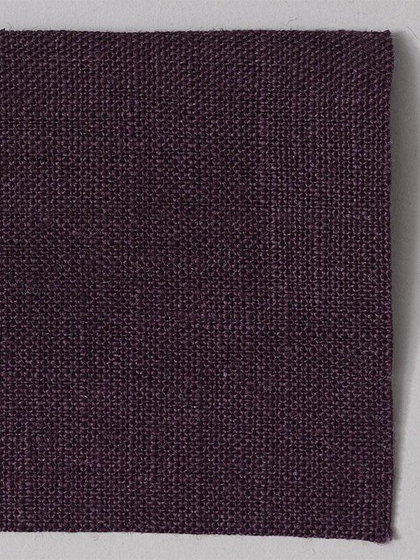 お試し生地 ベルギーリネン 先染め  紫根(しこん) 【ネコポス可】 f00200w011-s