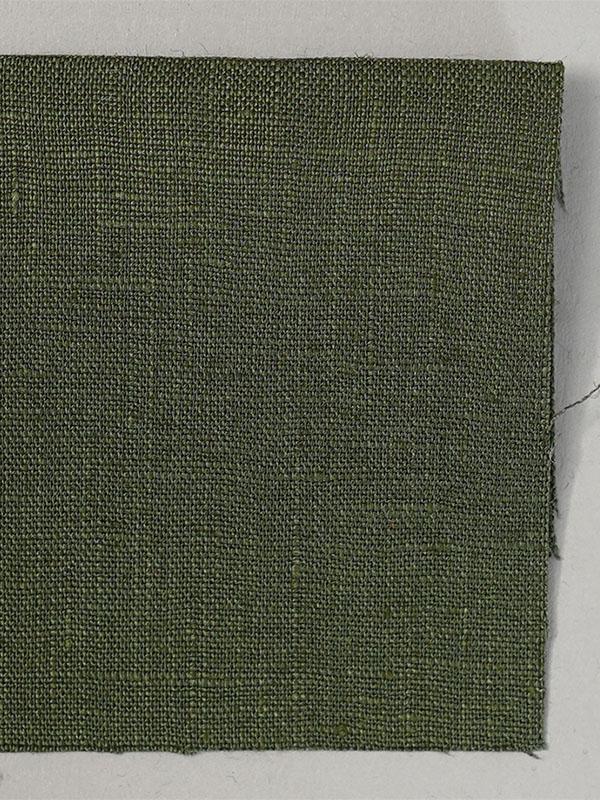 お試し生地 ストレッチリネン リネン100% ガーランドグリーン 【ネコポス可】 s07351w0od-s