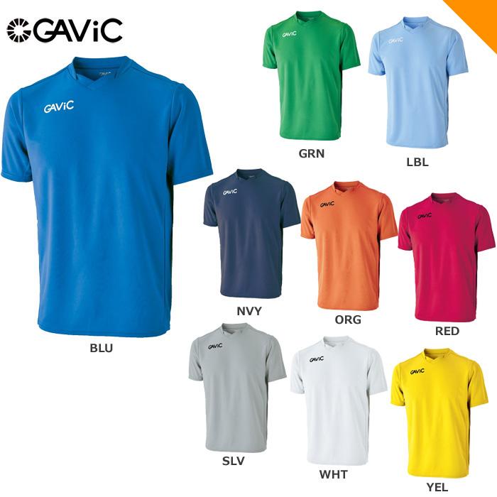 【20FW】【GAVIC】GA6501 ジュニアゲームシャツ【半袖】(120~160)【★1着までクリックポストOK 送料220円】