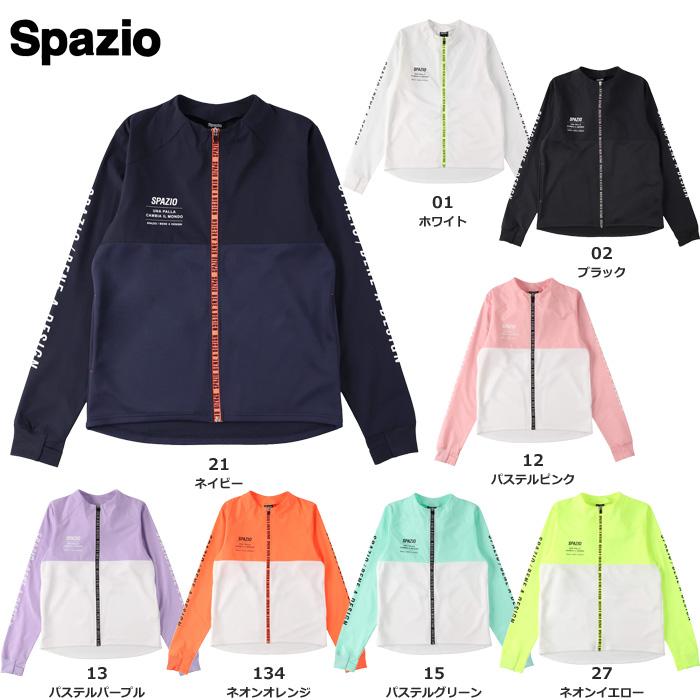 【21FW】【SPAZIO】GE0785 ロングジップジャケット(S~O)