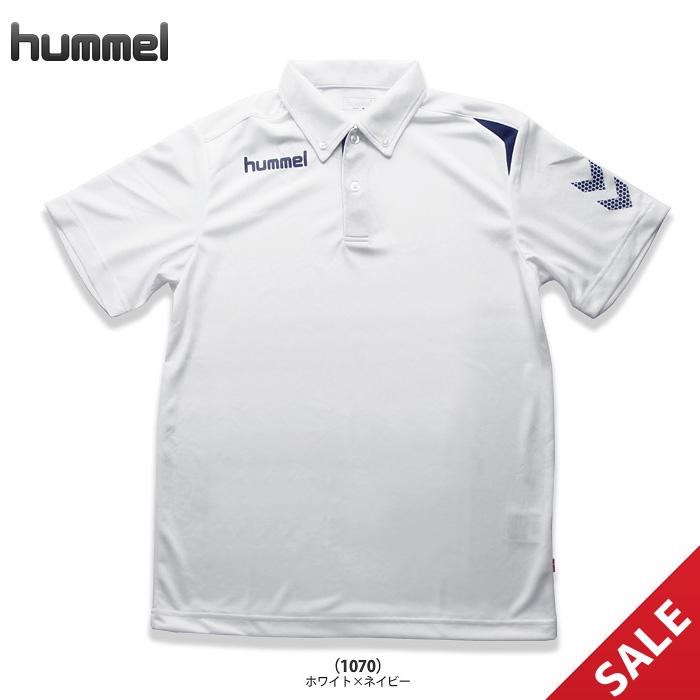【SALE】【ヒュンメル】HAY2073 ワンポインドドライポロシャツ(M)【即納】