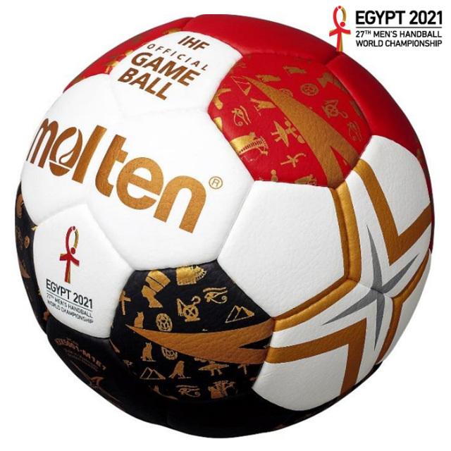 【21SS】【モルテン】H3X5001-M1E 【国際公認球】ヌエバX5000 エジプト 3号 エジプト大会試合球 IHFスペシャルエディション