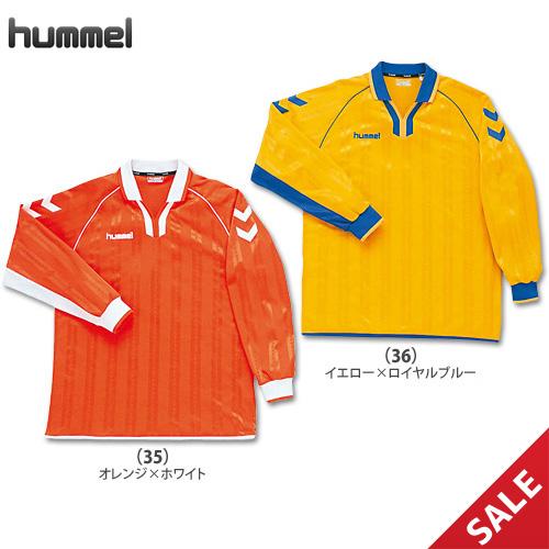 【SALE】【ヒュンメル】HAG2020  ゲームシャツ【長袖】(M、L)【★1着までクリックポストOK 送料220円】【★即納】