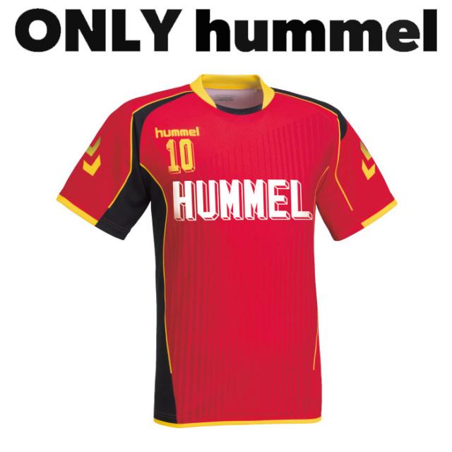 【ヒュンメル】【ONLY HUMMEL】HAG105 昇華ゲームシャツ【半袖/長袖】(ジュニア~ユニセックス:120~XO2)/納期:約30日/最低作成枚数:新規4枚~追加1枚~