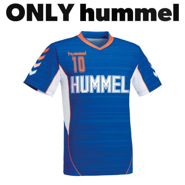 【ヒュンメル】【ONLY HUMMEL】HAG106 昇華ゲームシャツ【半袖/長袖】(ジュニア~ユニセックス:120~XO2)/納期:約30日/最低作成枚数:新規4枚~追加1枚~