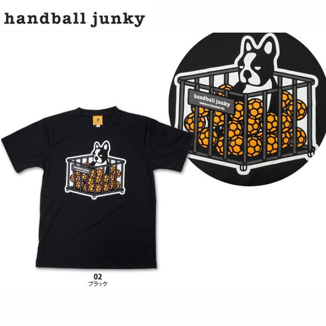 【HANDBALL JUNKY】HJ15009 Tシャツ【M】【即納】