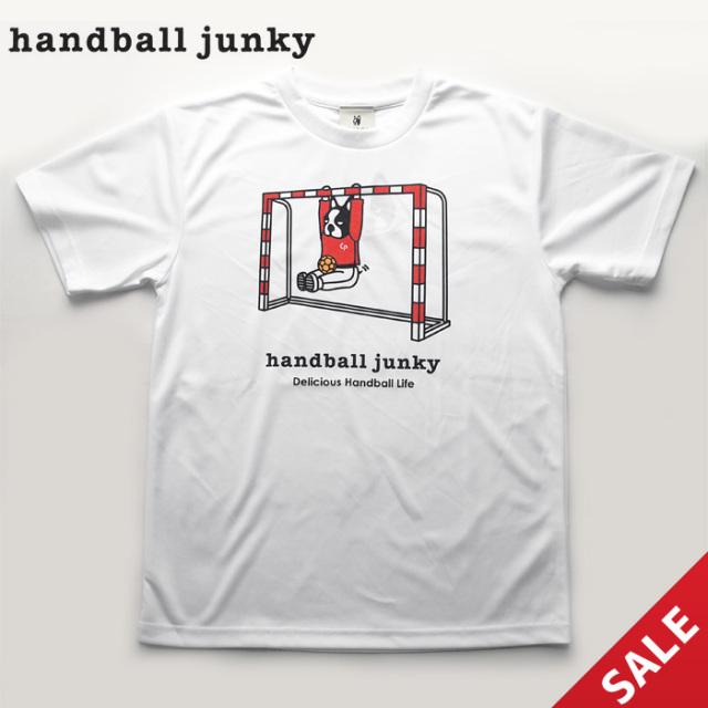 【HANDBALL JUNKY】HJ17004 Tシャツ【M、L】【即納】
