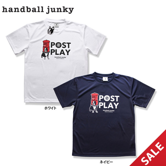 【SALE】【HANDBALL JUNKY】HJ18011 Tシャツ【Lサイズ】【★1着までクリックポストOK 送料220円】【★即納】