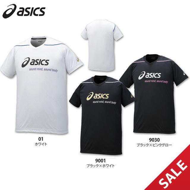 【SALE】【アシックス】XW6729 接触涼感プラシャツ【半袖】(M、L)【★即納】