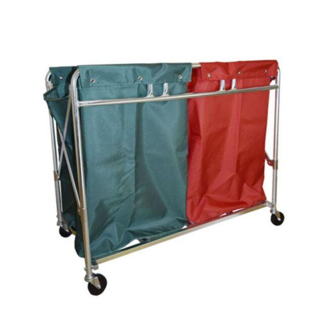 マルチトレッドワゴン TWOBAG 緑赤2枚カバー付き
