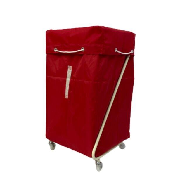 Z型リネンカート アイボリー ポリエステル製 レッド袋付 【送料無料】セット価格
