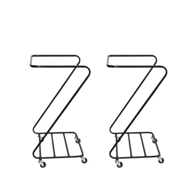 オリタニ Z型ランドリー ブラウン 2台