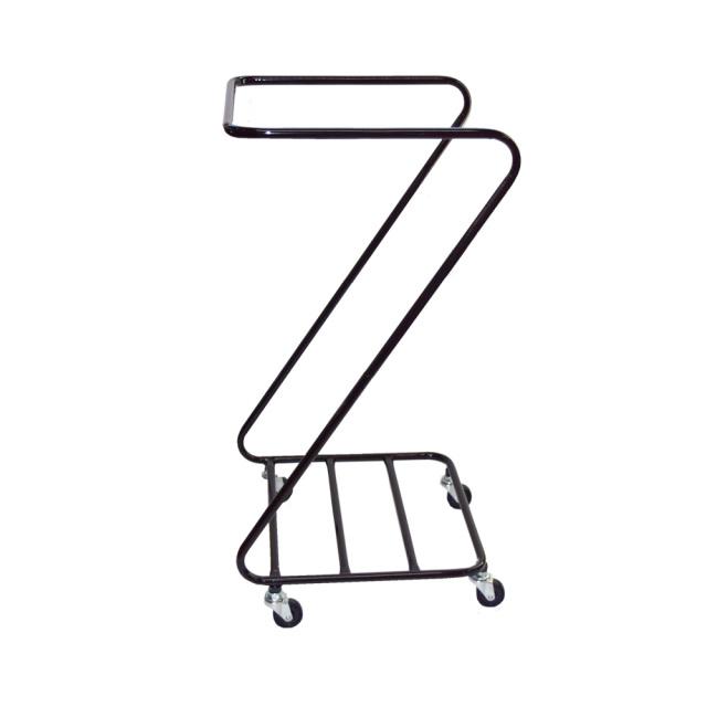 Z型リネンワゴン 茶色