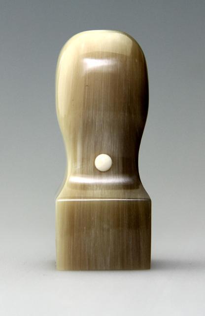 角印 オランダ水牛 牛角色(極上) 24 送料・代引手数料無料