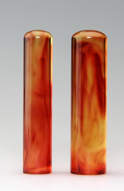 男性2本セットM 琥珀 13.5・16.5 送料・代引手数料無料