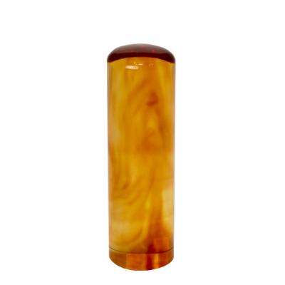 印鑑の素材 琥珀(こはく) 丸棒