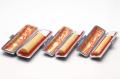 実印・銀行印・認印 本柘 15+12+10.5mm 3本モミ皮ケース付セット